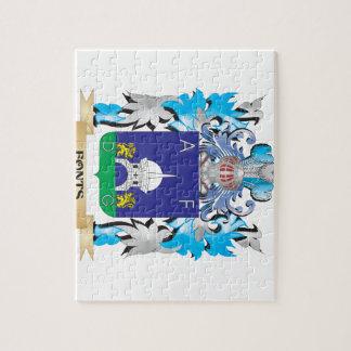 Escudo de armas de las fuentes - escudo de la puzzles con fotos