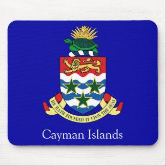 Escudo de armas de las Islas Caimán Alfombrilla De Ratones