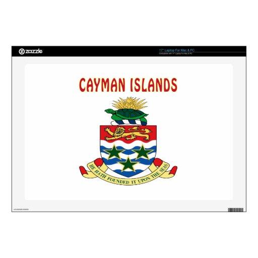 Escudo de armas de las Islas Caimán Portátil Skins