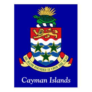 Escudo de armas de las Islas Caimán Postales
