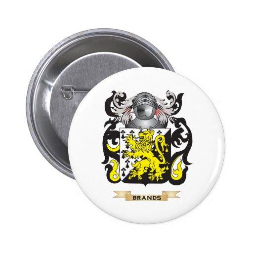 Escudo de armas de las marcas (escudo de la famili pins