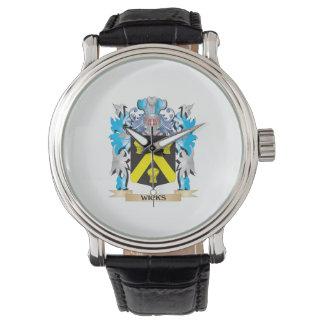 Escudo de armas de las mechas - escudo de la relojes de pulsera