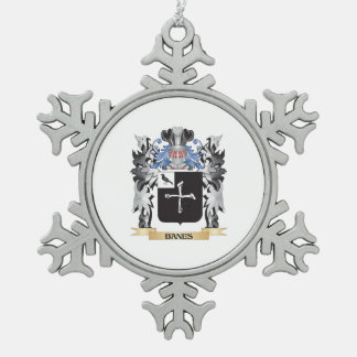 Escudo de armas de las perdiciones - escudo de la adorno de peltre en forma de copo de nieve