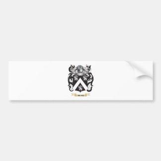 Escudo de armas de las rienda (escudo de la famili pegatina de parachoque