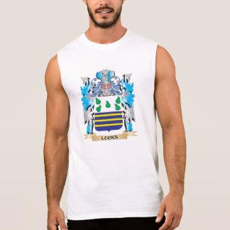 Escudo de armas de las suertes - escudo de la camiseta sin mangas