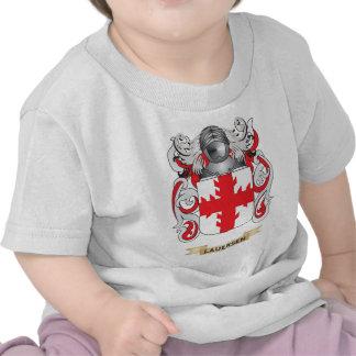 Escudo de armas de Lauersen (escudo de la familia) Camisetas