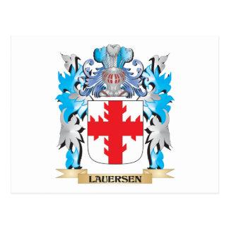 Escudo de armas de Lauersen - escudo de la familia Postal