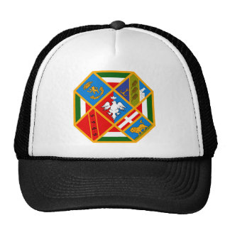 Escudo de armas de Lazio (Italia) Gorras
