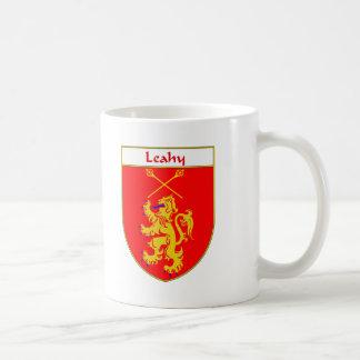 Escudo de armas de Leahy/escudo de la familia Taza