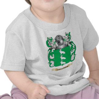 Escudo de armas de Lechner (escudo de la familia) Camiseta