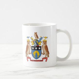 Escudo de armas de Leeds Tazas De Café