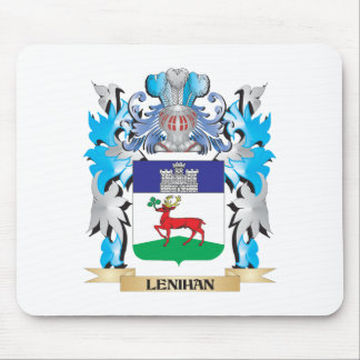 Escudo de armas de Lenihan - escudo de la familia Mouse Pad