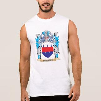 Escudo de armas de Leonard - escudo de la familia Camiseta Sin Mangas