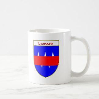 Escudo de armas de Leonard/escudo de la familia Taza