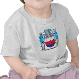 Escudo de armas de Leonardo - escudo de la familia Camiseta