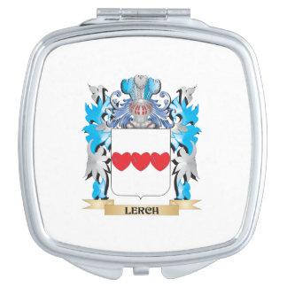 Escudo de armas de Lerch - escudo de la familia Espejo Maquillaje
