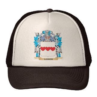 Escudo de armas de Lerch - escudo de la familia Gorros