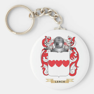 Escudo de armas de Lerch (escudo de la familia) Llavero Redondo Tipo Pin