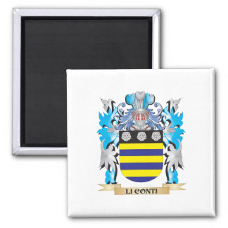 Escudo de armas de Li-Conti - escudo de la familia Iman De Nevera