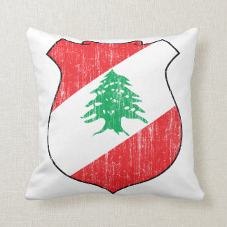 Escudo de armas de Líbano Cojín Decorativo