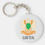 Escudo de armas de Libia Llaveros Personalizados