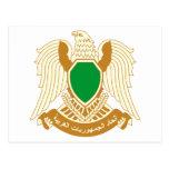 Escudo de armas de Libia Postal
