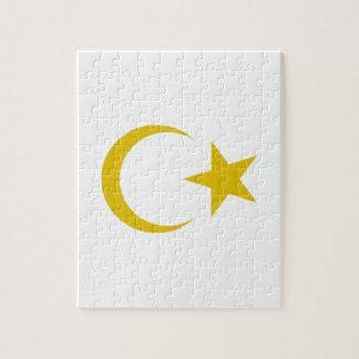 Escudo de armas de Libia Rompecabeza Con Fotos