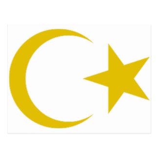 Escudo de armas de Libia Tarjetas Postales