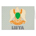 Escudo de armas de Libia Tarjeton