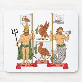 Escudo de armas de Liverpool Tapetes De Raton