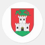 Escudo de armas de Ljubljana Pegatinas