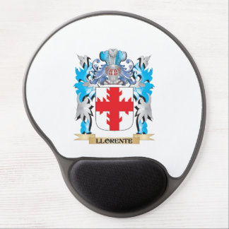 Escudo de armas de Llorente - escudo de la familia Alfombrilla Con Gel
