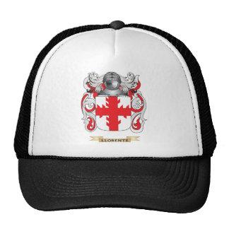 Escudo de armas de Llorente (escudo de la familia) Gorra