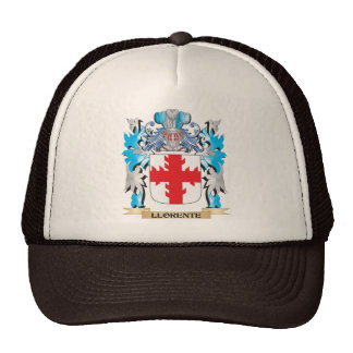 Escudo de armas de Llorente - escudo de la familia Gorras
