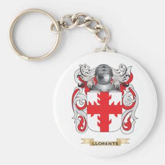 Escudo de armas de Llorente (escudo de la familia) Llavero Redondo Tipo Pin