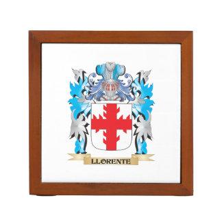Escudo de armas de Llorente - escudo de la familia