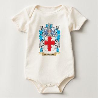 Escudo de armas de Llorente - escudo de la familia Trajes De Bebé