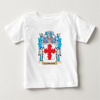 Escudo de armas de Llorente - escudo de la familia T-shirt