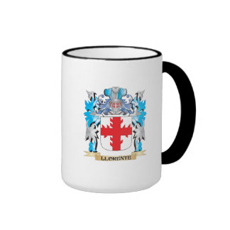 Escudo de armas de Llorente - escudo de la familia Taza A Dos Colores
