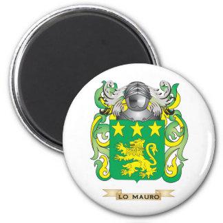 Escudo de armas de Lo-Mauro (escudo de la familia) Imán De Frigorífico