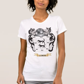 Escudo de armas de Lobos (escudo de la familia) Camiseta