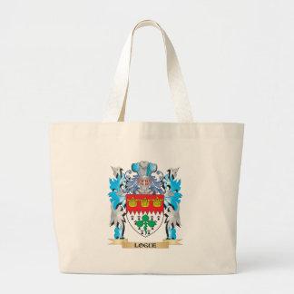 Escudo de armas de Logue - escudo de la familia Bolsas