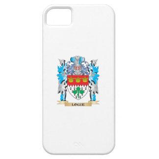 Escudo de armas de Logue - escudo de la familia iPhone 5 Case-Mate Fundas