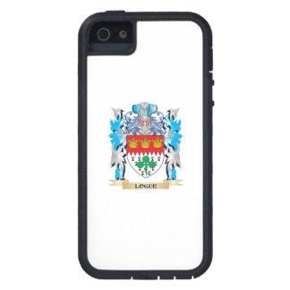Escudo de armas de Logue - escudo de la familia iPhone 5 Case-Mate Protector
