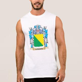 Escudo de armas de Londres - escudo de la familia Camiseta Sin Mangas