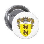 Escudo de armas de López (cubierto) Pin
