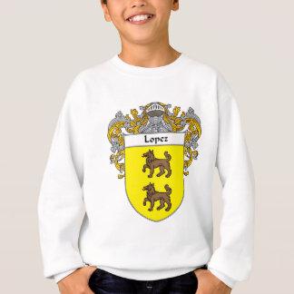 Escudo de armas de López (cubierto) Sudadera