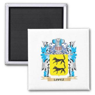 Escudo de armas de López - escudo de la familia Imán