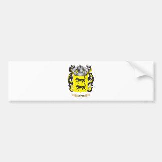 Escudo de armas de López (escudo de la familia) Pegatina Para Auto