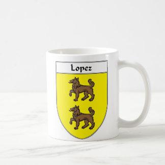 Escudo de armas de López/escudo de la familia Taza Clásica
